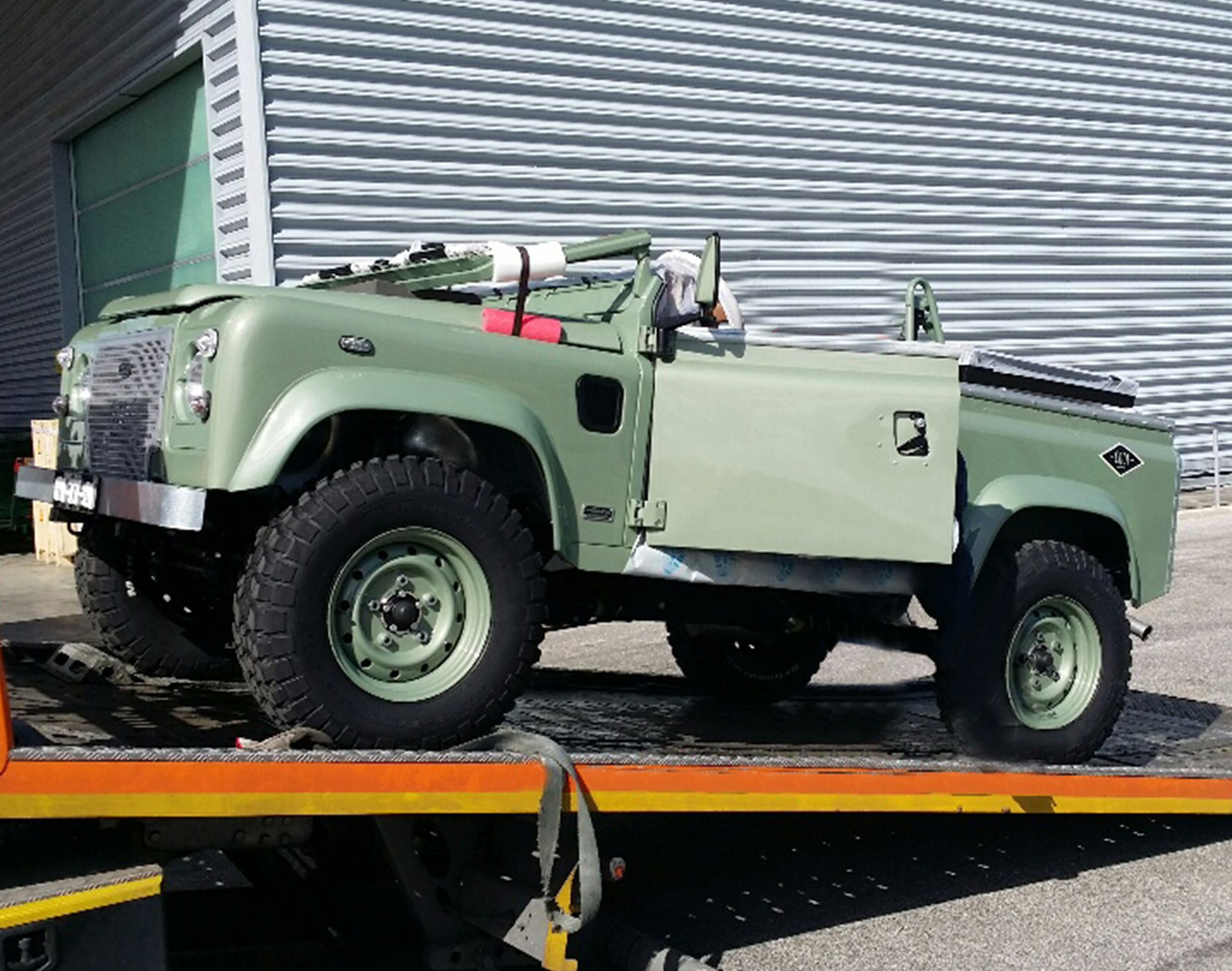 Project Cargo - Jeep